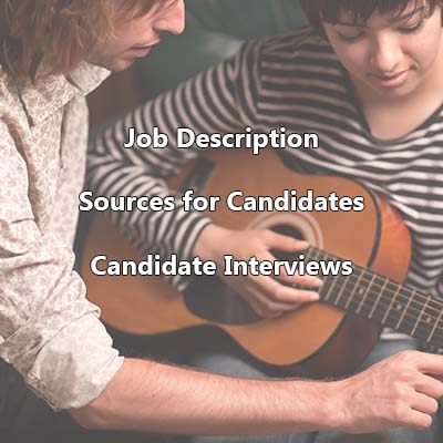 Recommended Recruiting and Hiring Process - Music Program
