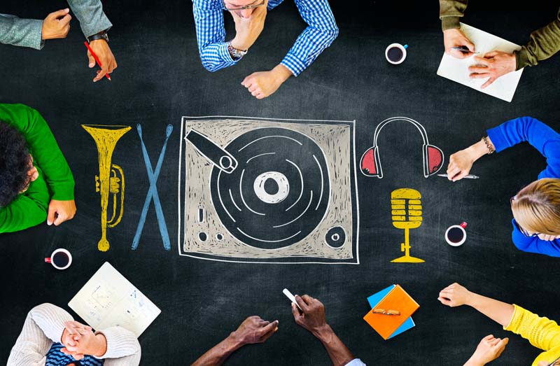 Key Players in the Music Industry