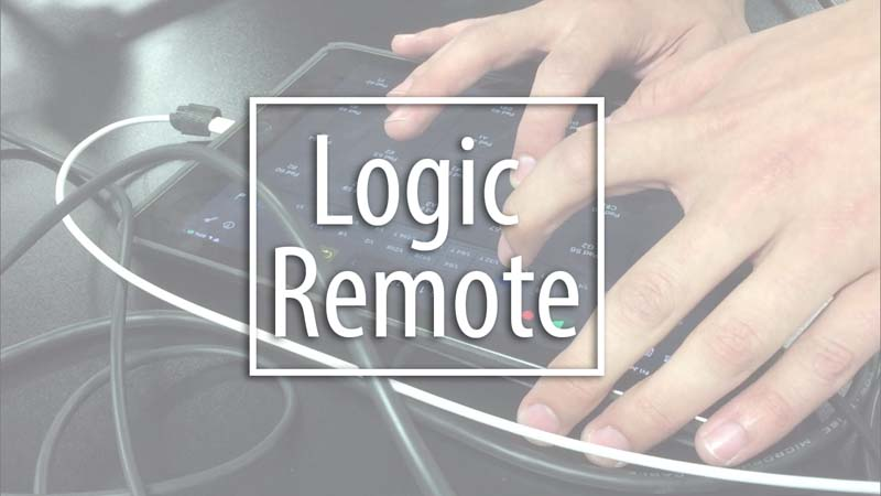 Logic Remote as a Midi Control Surface