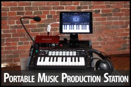 Portable Music Production Station