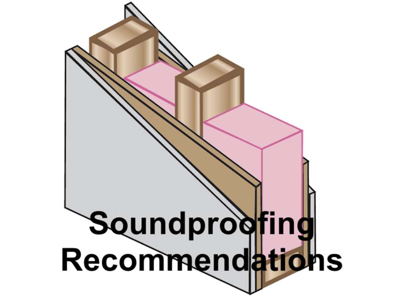 Soundproofing Recommendations